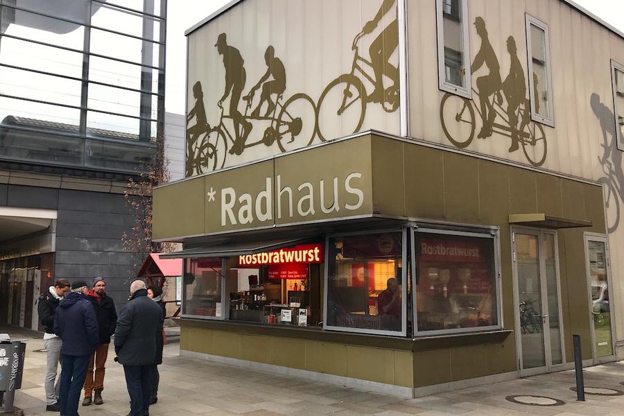 Ladenlokal im Erfurter Radhaus zu vermieten - Bahnhof-Erfurt.de
