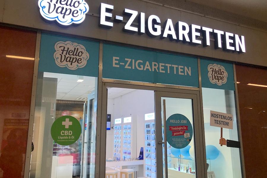 E-Zigaretten-Laden in der Unterführung - Bahnhof-Erfurt.de