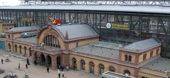 ICE-Bahnhof Erfurt in Thüringen - Foto: www.bahnhof-erfurt.de