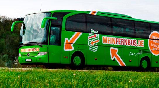 Neue Fernbuslinien durch Thüringen. Foto: MeinFernbus.de - Bahnhof-Erfurt.de