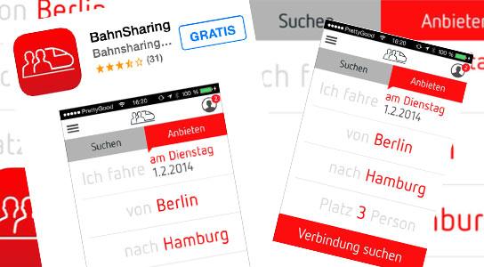 Fahrkarten per Handy-App teilen für iPhone und Android - Bahnhof-Erfurt.de